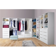 Multistore 2000 x 608 x 450mm Storage Unit - Crisp White