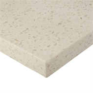 Essential Stone 20mm Whipped Cream Square Urbane Splashback