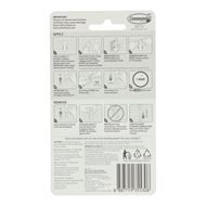 Command Large And Medium Wet Area Refill Strips - 6 Pack