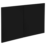Kaboodle 900mm Blackberry Modern Rangehood Doors - 2 Pack