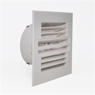 Accord 200mm Square Linearjet Ceiling Vent Diffuser