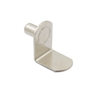 Prestige 6mm Pin Nickel Shelf Supports - 50 Pack