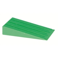 Builders Edge 15mm Green Builders Wedge - 25 Pack