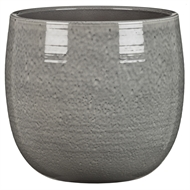 Scheurich 21 x 20cm Intense Grey Ceramic Pot