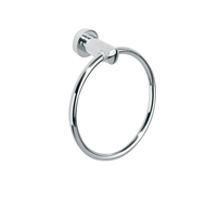 Cosmo Chrome Towel Ring