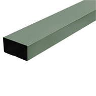 COLORBOND 0.4 x 100 x 50mm x 1.8m Steel Downpipe - Cottage Green