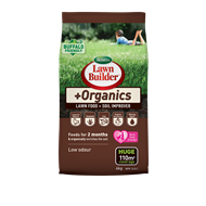 Scotts Lawn Builder 4kg +Organics Lawn Food And Soil Improver