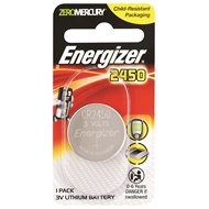Energizer Lithium CR2450 Coin Battery