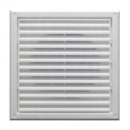 Blauberg 125mm White Square Fixed Grille