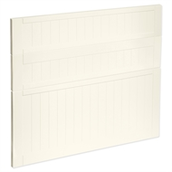 Kaboodle 900mm Antique White Country 3 Drawer Panels