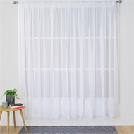 Windoware 5000 x 2130mm Sheer Hampton Rod Pocket Curtain