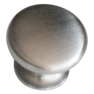 Kaboodle 27mm Zinc Alloy Mushroom Knob Kitchen Door Handle