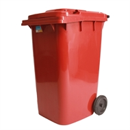 Handy 240L Red Wheelie Bin
