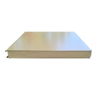 Panelspan 2400 x 1200 x 50mm White Insulated Sandwich Panel