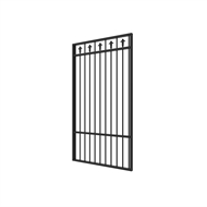 Protector Aluminium 975 x 1800mm Custom Double Top Rail 1 Up 1 Down With Spears Pool Gate