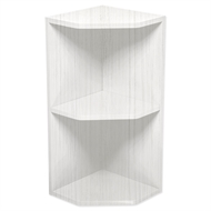 Kaboodle White Forest Open End Wall Cabinet