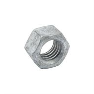 Zenith M12 Hot Dipped Galvanised Hex Nuts - 50 Pack