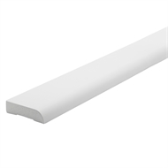 Woodhouse EdgeLine 66 x 18mm 5.4m Bullnose Primed Finger Jointed Pine Moulding