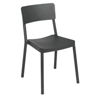 Tusk Living Charcoal Asta Cafe Chair