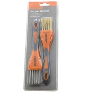Craftright 2 Piece Wire Brush Set