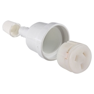 HPM 10A Socket Plug Extension  - White