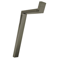 COLORBOND 100 x 50mm Adjustable Downpipe Offset - Gully