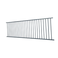 Protector Aluminium 2400 x 900mm Flat Top Fence Panel - Deep Ocean