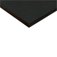 Litestone 950 x 800 x 40mm Pure Black Side Panel