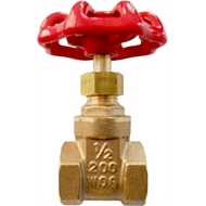 Kinetic 15mm Brass Gate Valve