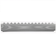 Gutterguard Gumleaf 2mm Hole size for Corrugated Roof Zinc 1200mm Long