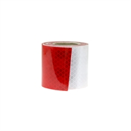 Croc Grip 2m x 48mm Red and Silver DOT C2 Highly Reflective Tape