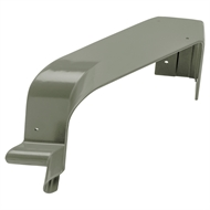 COLORBOND 115mm 90 Degree Quad Gutter Internal Cast Corner - Mangrove