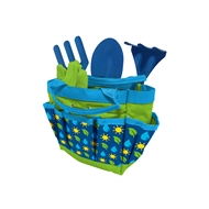 Blue 6 Piece Kids Garden Set