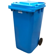 Handy 240L Light Blue Wheelie Bin