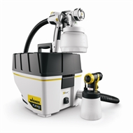 ozito 650w airless spray gun with hose i n 1661723 bunnings. Black Bedroom Furniture Sets. Home Design Ideas