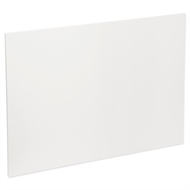 Kaboodle 1200mm Island Back Panel - Gloss White