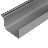COLORBOND® Steel 0.42 x 115mm Quad Gutter - Basalt