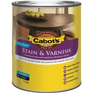 Cabot's 1L Cedar Gloss Water Based Stain And Varnish