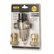 Nefa 15mm DR Brass Adjustable Tempering Valve