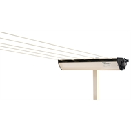 Austral Classic Cream RetractAway Clothesline Post