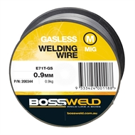 Bossweld 0.9mm x 0.9kg Gasless GS MIG Wire