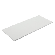 Flexi Storage 596 x 430 x 16mm White Melamine Shelf
