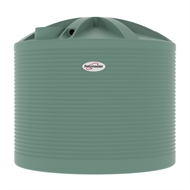 Polymaster 13700L Round Corrugated Poly Water Tank - Rivergum