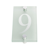 Sandleford 80mm 9 Glass Numeral