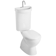 Caroma WELS 5 Star Profile 5 Deluxe S Trap Toilet Suite