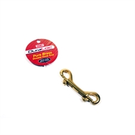 Dura Loc 15 x 90mm Brass Double End Snap Hook