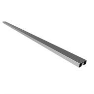 Architects Choice Silver Aluminium Rectangular Handrail Set
