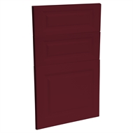 Kaboodle 450mm Seduction Red Heritage 3 Drawer Panels