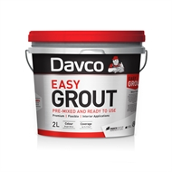 Davco 2L Bright White Pre-Mixed Easy Grout