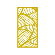 Protector Aluminium 900 x 1800mm ACP Profile 20 Decorative Panel Unframed - Light Yellow